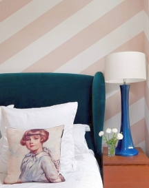 Painting stripes on walls: determine the width