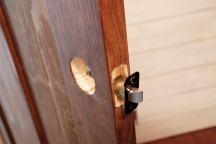 remove hardware before painting woodwork