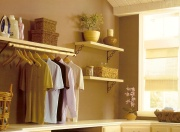 examine your closet before you pick paint colors