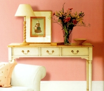 Muted pink paint colors look grown up and sophisticated