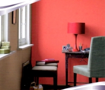 Bright pinks are often best used for painting a single accent wall