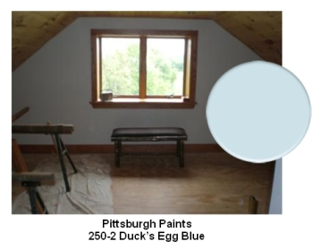 Pittsburgh Duck's Egg Blue paint color