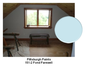 Pittsburgh Paints Fond Farewell color