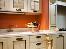 another popular kitchen color: orange