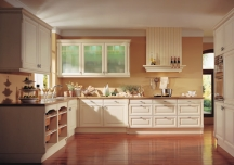 neutrals are also popular kitchen color choices