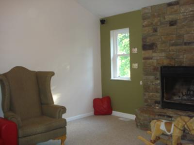 painting accent walls in living room room color ideas