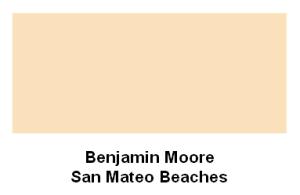 San Mateo Beaches paint color