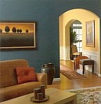 selecting complimentary paint colors