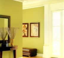 Yellow-green shades can be tricky to use in painting