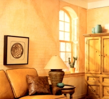 Apricot orange is a soothing paint color shade