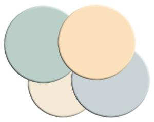 Benjamin Moore paint color scheme