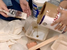 Use the right recipe for paint sponging success