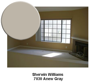 SW7030 Anew Gray paint color