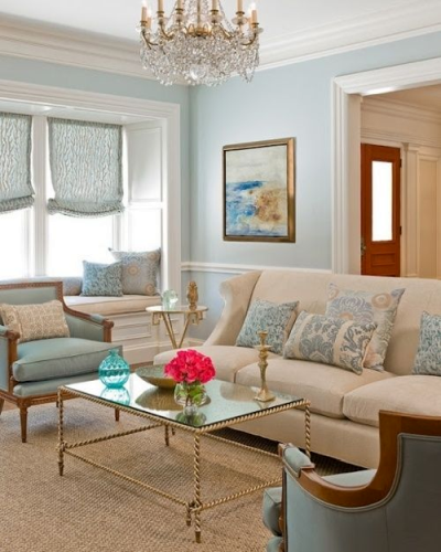 Example of muted paint and decor colors