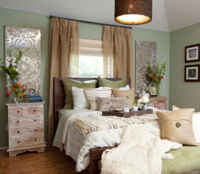 Earthy paint colors need muted accents