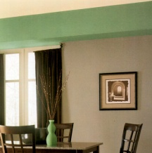 Structural eyesores can be made to look decorative with paint and color