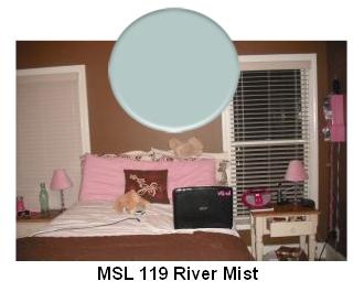 MSL River Mist paint color