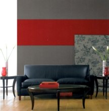 Dark gray walls should be balanced with light flooring or furniture