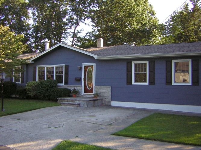 After: house with great color personality