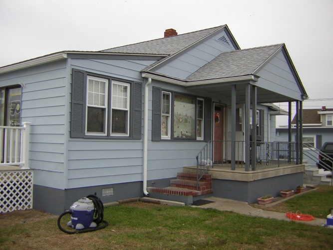 After: beautifully painted exterior
