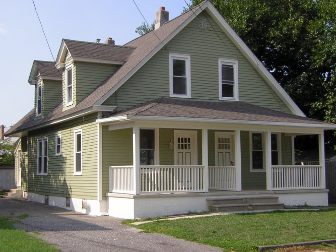 After: chic and attractive painted home