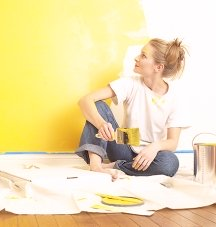 Paint and color are all you need to transform your home