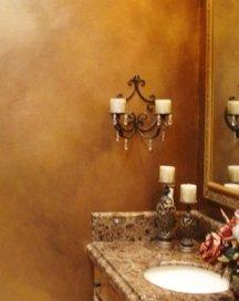 How to sponge paint off the walls diy instructions for How to sponge paint a wall without glaze