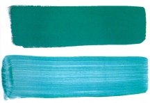 how to sponge paint off - glaze application