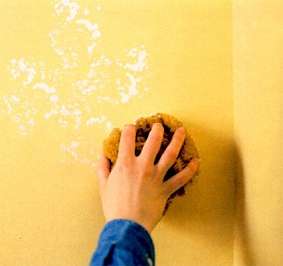 Handling corners when sponging