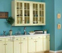Eggshell/satin interior paint finishes