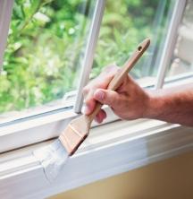 Semi-gloss interior paint finishes