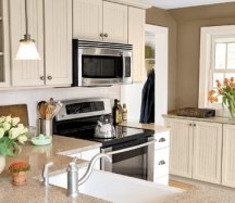 earthy kitchen design colors