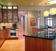 fresh Asian kitchen painting idea