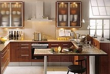 contemporary neutral kitchen painting idea