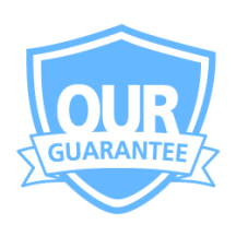 Our guarantee badge