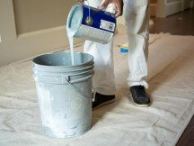 Professional painters are efficient