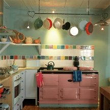 unusual paint colors for kitchen surfaces