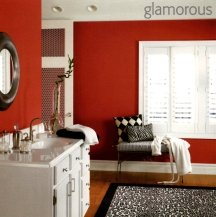 Historic red paint shades can work in any room