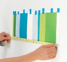 Measure the repeat of your stripe pattern