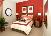 Accent walls can overwhelm an already bold decor
