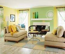 The Color Of Your Accent Wall Should Relate To Decor