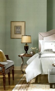 Sage green is a timeless shade for interior painting
