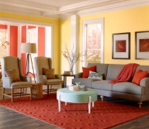 Yellow walls can look comfy, lively or crazy - it's all about the shade you use