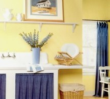 Buttery yellows can work in most rooms in your home