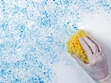 correct hand motion when sponge painting walls