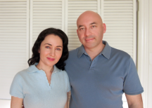 Yelena and Alek Kublitski