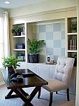 Accent wall painting ideas: bookshelf