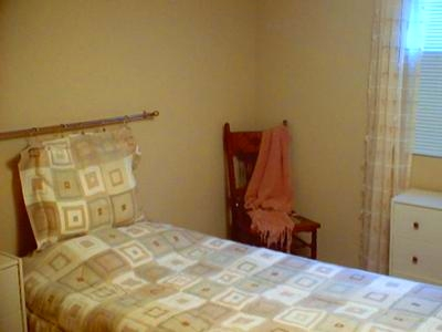My freshly painted neutral bedroom
