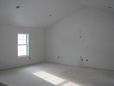 We need to choose paint colors for this great room